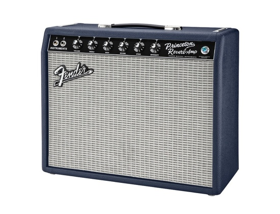 Fender Princeton Reverb Navy Blues Limited Ed 15W 12in Celestion Blue