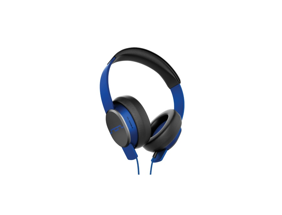 Sol Republic Master Tracks Over-Ear Headphones (Electro Blue)