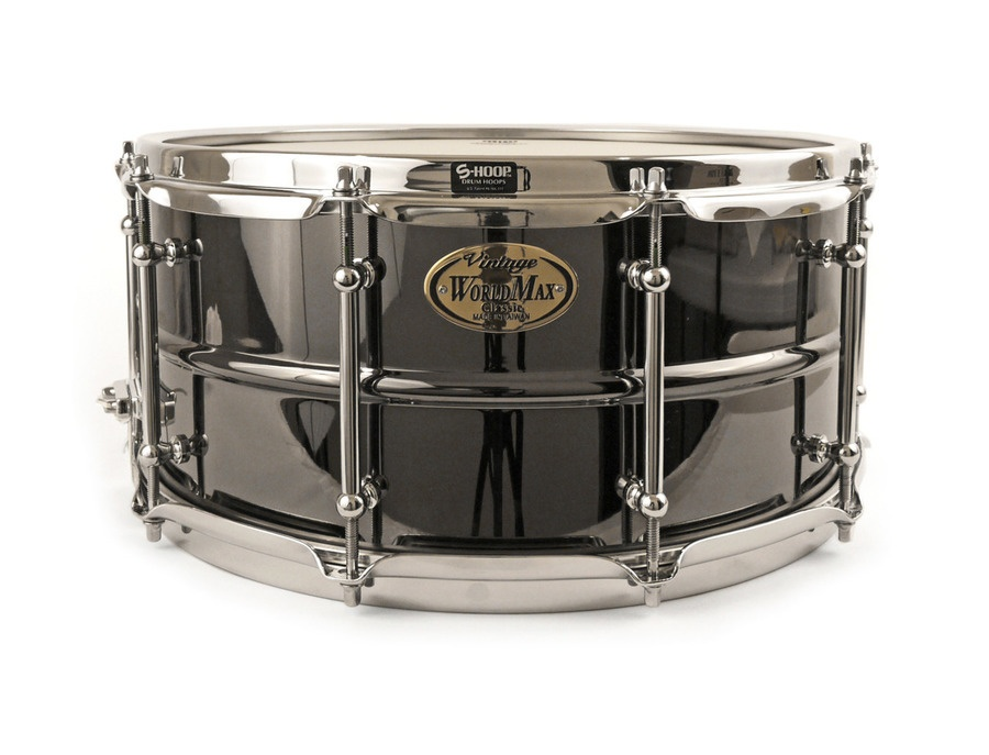 "WorldMax Brass Snare 14""x6.5"""