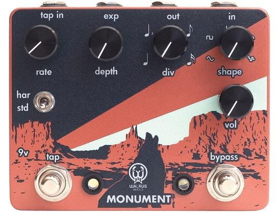 Walrus Audio Monument Tap Tempo Harmonic Tremolo