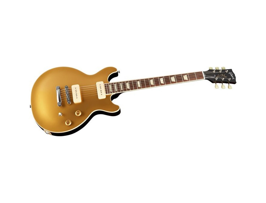 Gibson Les Paul Double Cutaway P-90 Goldtop