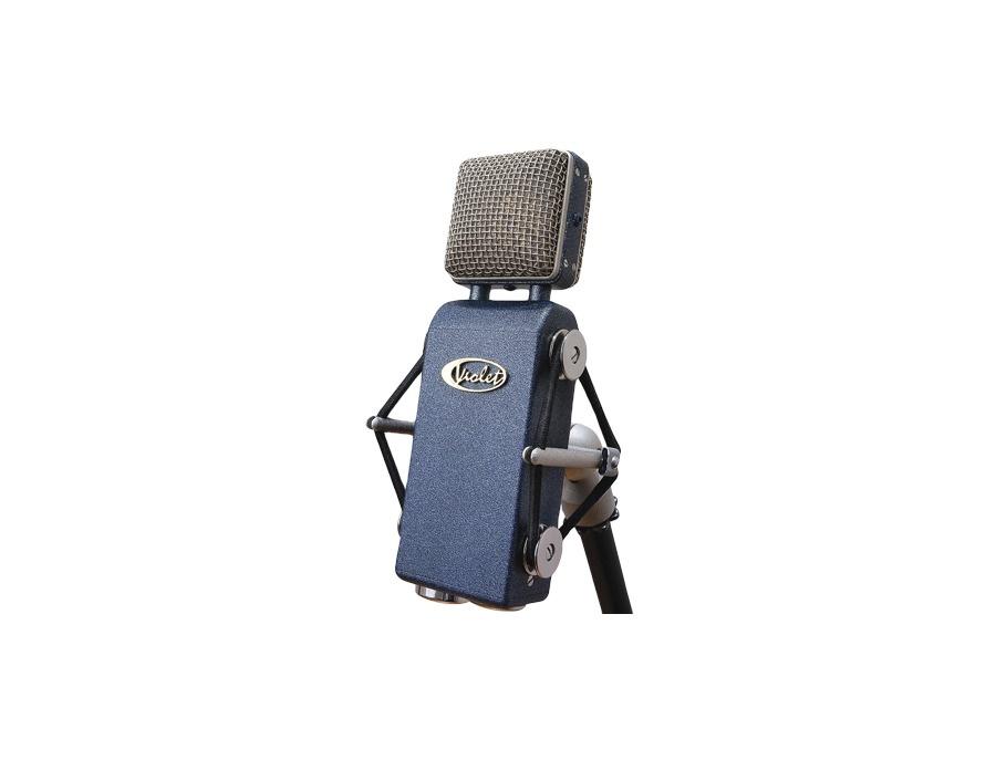 Violet Design's Amethyst Vintage Condenser Microphone