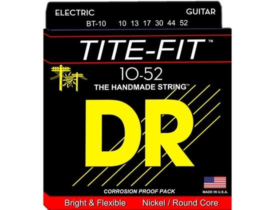 DR Strings Tite-Fit BT-10 Big-n-Heavy Electric Guitar Strings