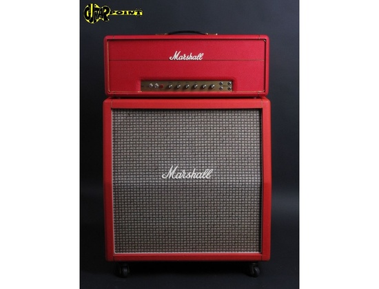Red Marshall 4x12 cabinet