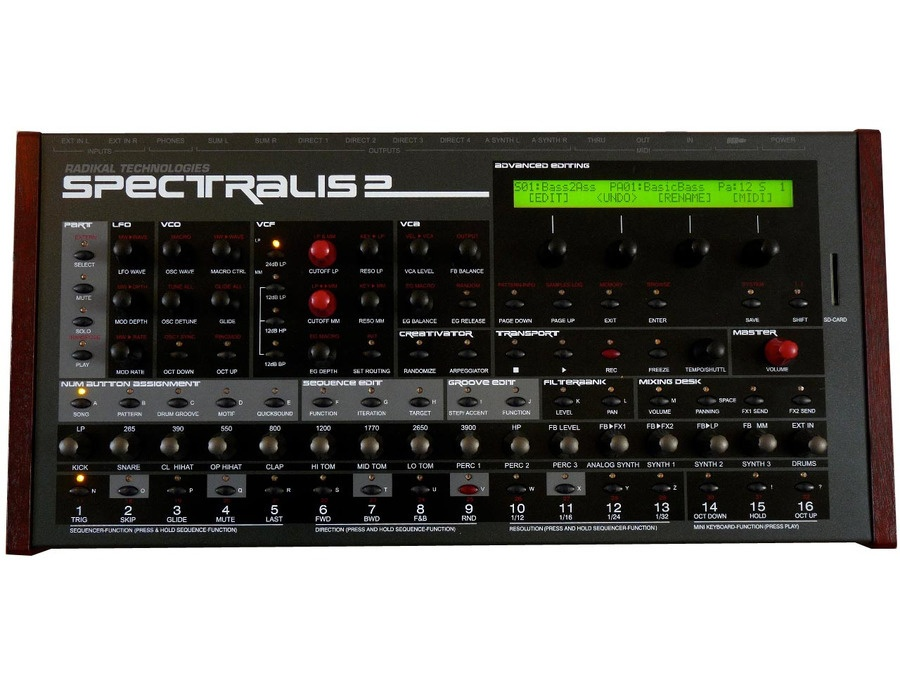 Spectralis 2 Hybrid Synthesizer
