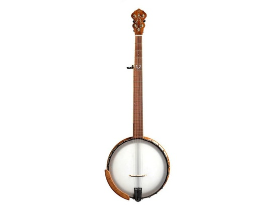 Bulas Banjos - Flamed Cherry