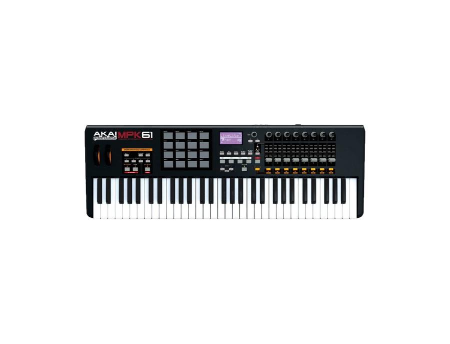 Akai mpk61 usb midi keyboard controller xl