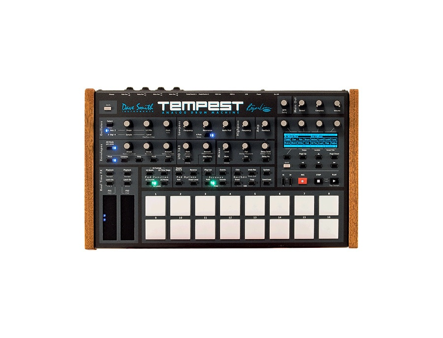 Dave smith instruments tempest analog drum machine xl