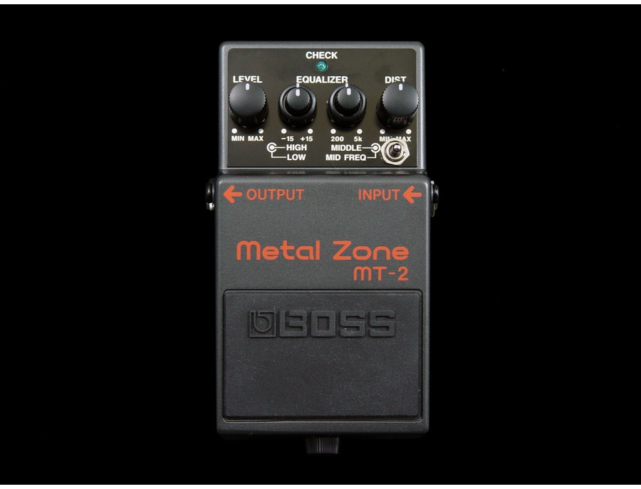 Keeley Modded Boss MT-2 Metal Zone
