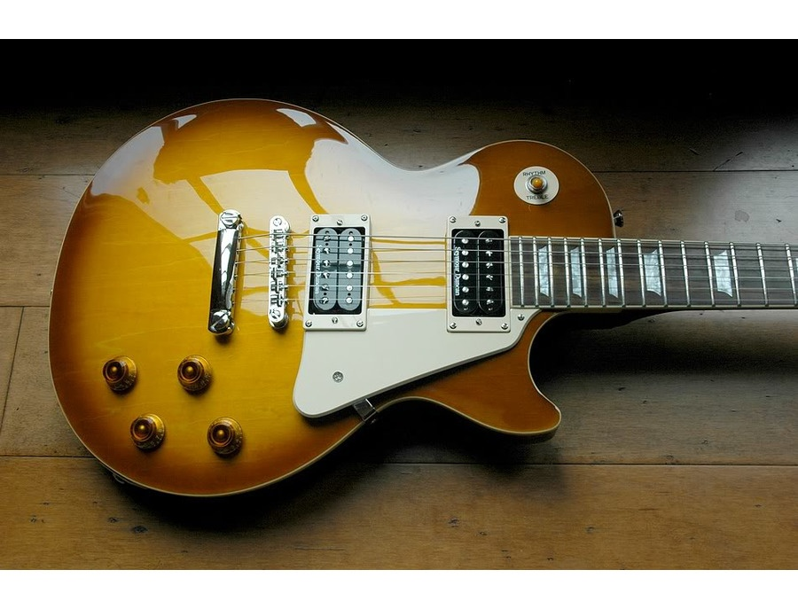 Epiphone Les Paul Standard Honeyburst with Seymour Duncan JB/59