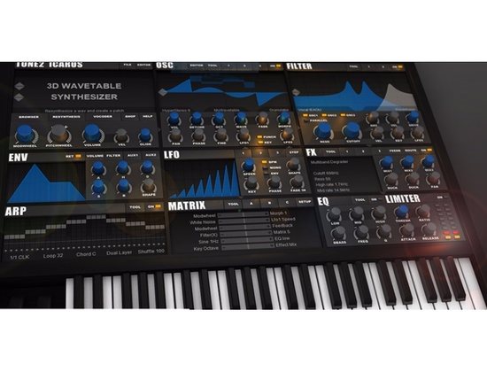 Tone2 Icarus Software Synthesizer