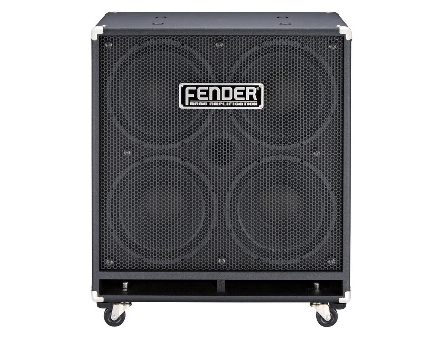 "Fender Rumble 410 Bass Cabinet (1000 Watts, 4x10"")"