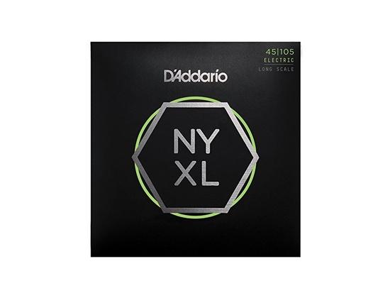 D'Addario NYXL45105 Nickel Wound Bass Guitar Strings45-105