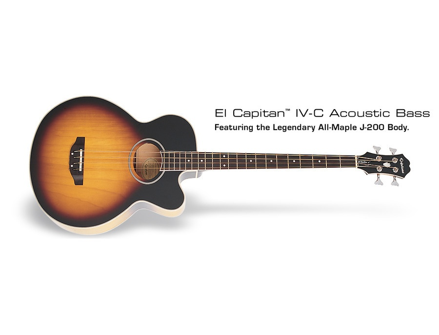 Epiphone El Capitan IV-C Acoustic Bass