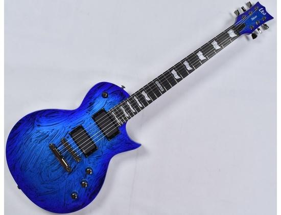 ESP LTD Deluxe EC-1000 Swirl Blue
