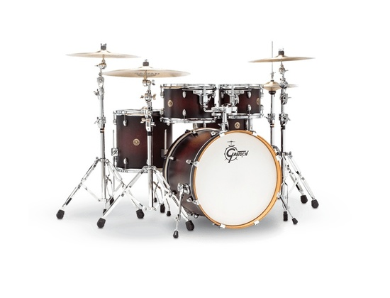 Gretsch Drums Catalina Maple 5-Piece in Satin Deep Cherry Burst