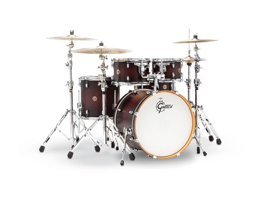 Gretsch Drums Catalina Maple 5-Piece in Satin Deep Cherry Burst