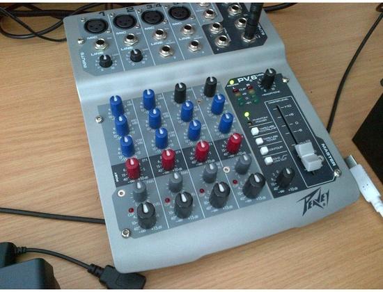 Peavey PV 6 USB Mixer