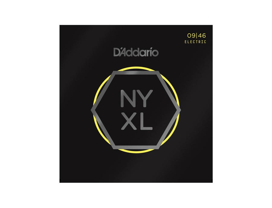 D'Addario NYXL0946 Nickel Wound Electric Guitar Strings, Super Light Top / Regular Bottom, 9-46