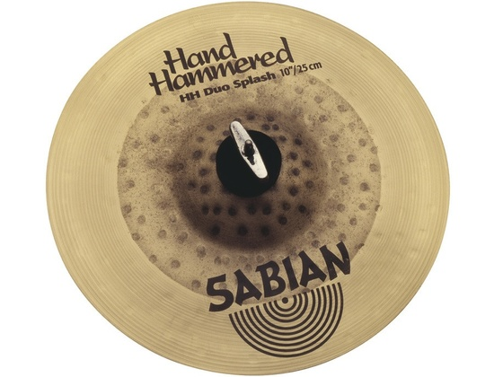 "Sabian Hand Hammered 10"" Duo Splash"