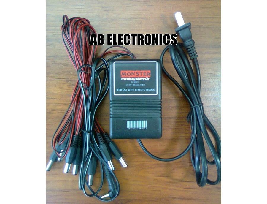 AB Electronics Monster Power Supply 2000mA (12 x 9V)