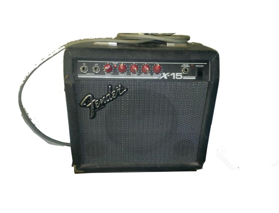 Fender X-15 Guitar Amp