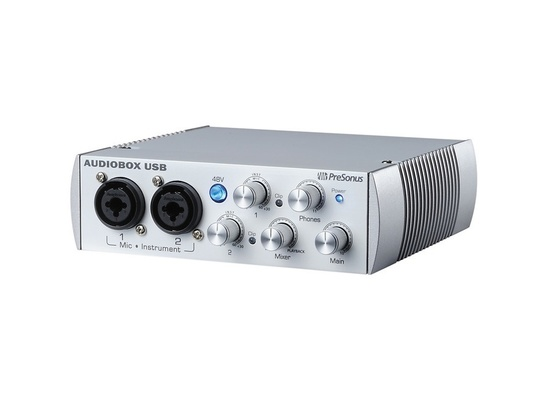 PreSonus AudioBox USB 2x2 Audio Recording Interface Limited Edition White