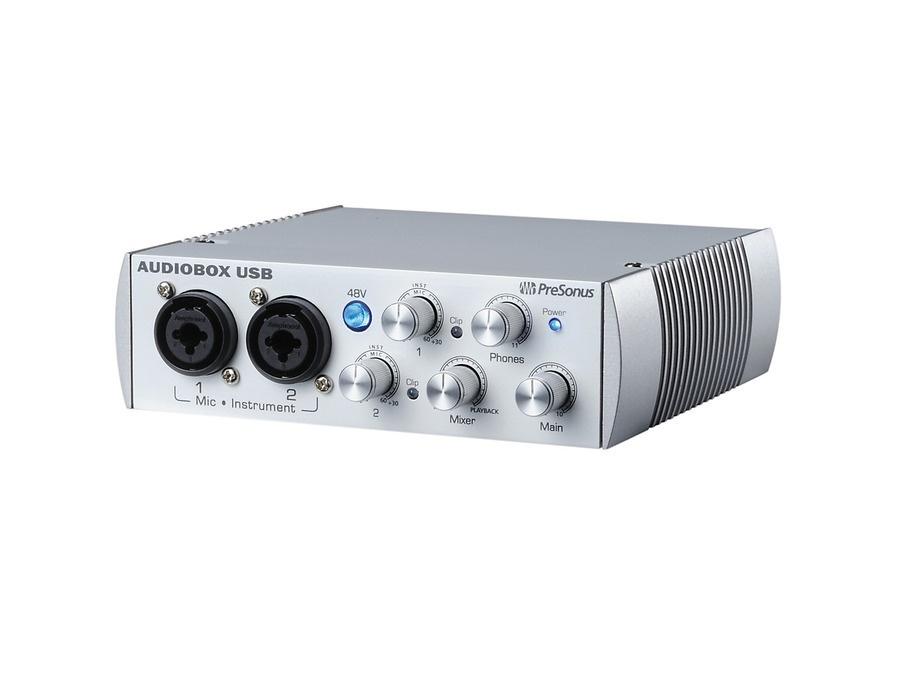 PreSonus AudioBox USB 2x2 Audio Recording Interface Limited Edition White