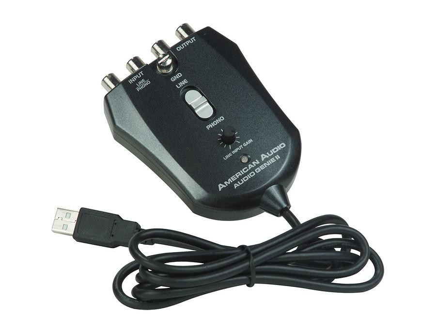 American Audio Audio Genie II USB Phono Interface