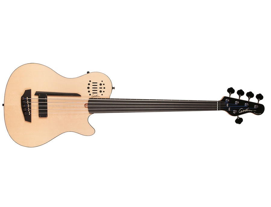 Godin A5 Fretless Bass