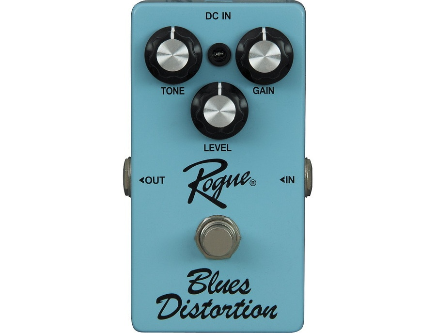 rogue blues distortion guitar effects pedal reviews prices equipboard. Black Bedroom Furniture Sets. Home Design Ideas