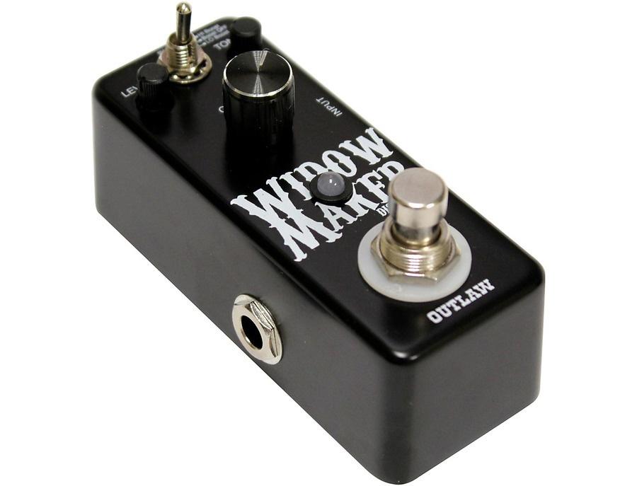 Outlaw Effects Widow Maker Metal Guitar Distortion Pedal