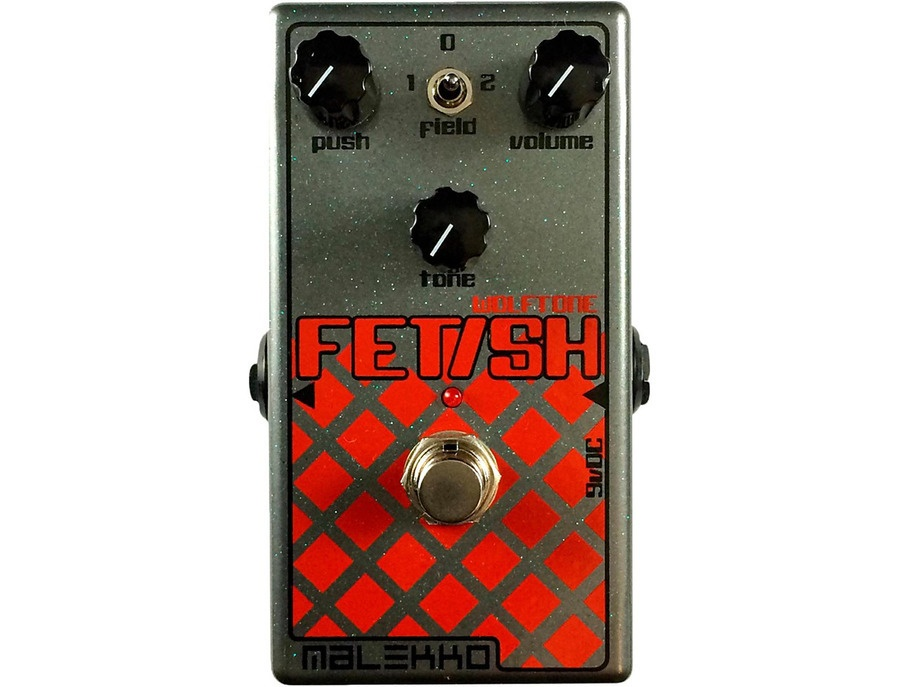 Malekko Heavy Industry Fetish MKII Distortion Guitar Effects Pedal