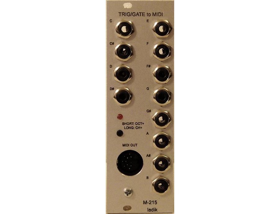 Ladik M-215 Trig/Gate to MIDI
