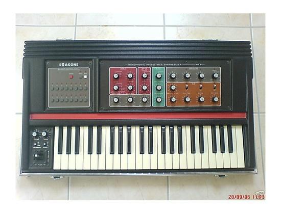 Cavagnolo Exagone Monophonic Synthesizer
