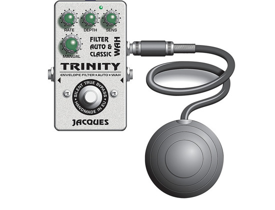 Jacques Trinity Wah Filter Pedal