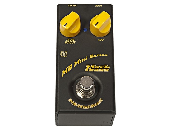 Markbass MB Mini Boost Compact Boost Effects Pedal For Bass