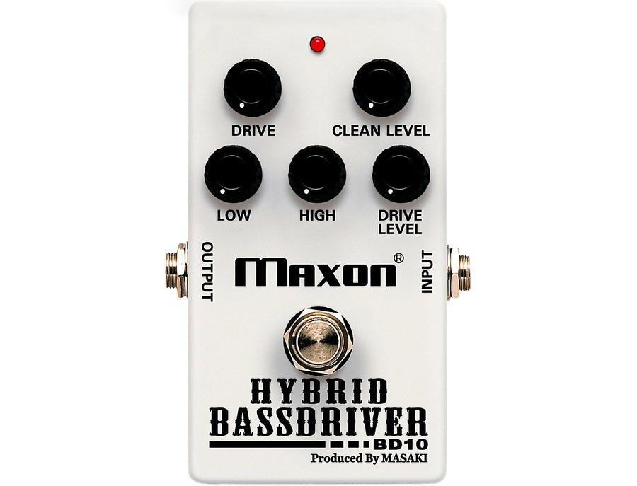 Maxon BD10 Hybrid Bass Driver Effects Pedal