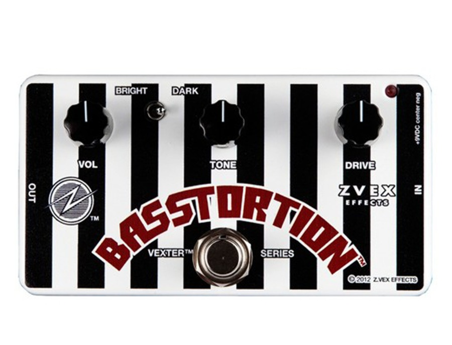 ZVex Basstortion Bass Distortion Pedal
