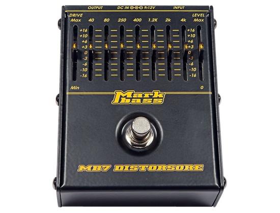 Markbass MB7 Distorsore Bass Distortion Effects Pedal