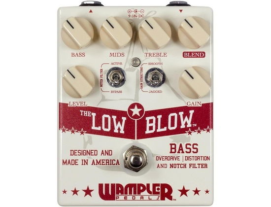 Wampler Low Blow Overdrive Bass Effects Pedal