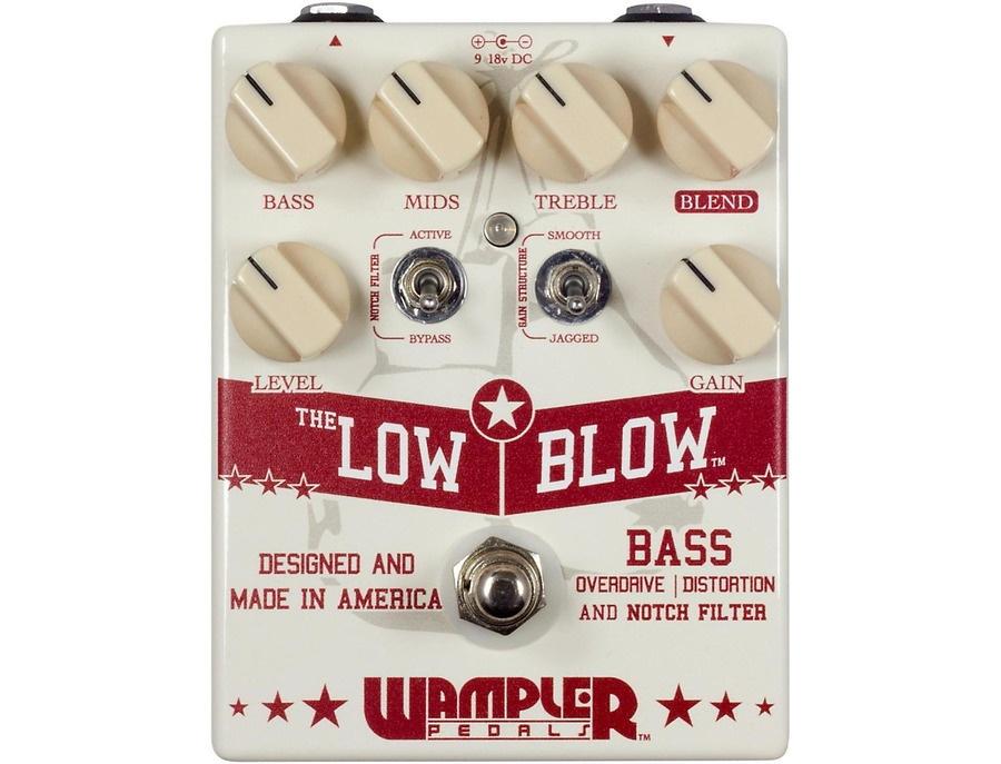 Wampler low blow overdrive bass effects pedal xl