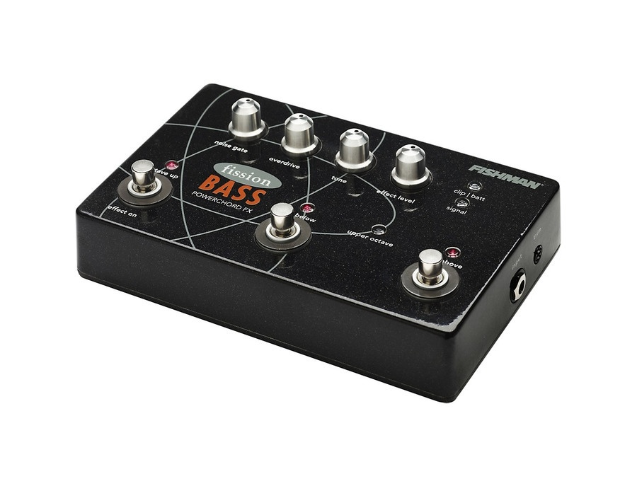 Fishman Fission Bass Powerchord Octave Bass Effects Pedal