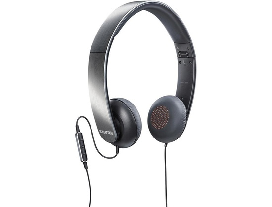 Shure SRH145M+ Portable Headphones With Remote + Mic