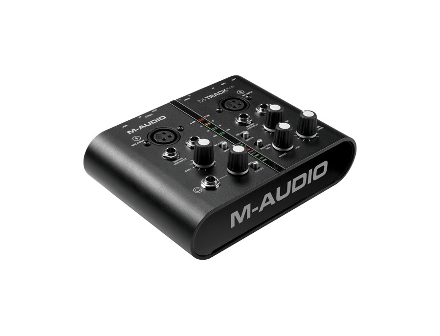 M-Audio M-Track Plus Two-Channel USB Audio/MIDI Interface