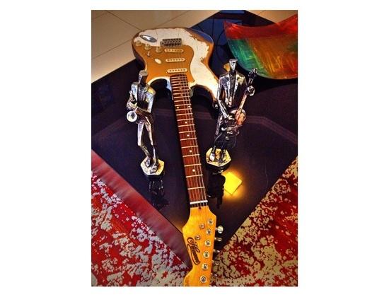 Stratocaster HandMade Mr.F Signature