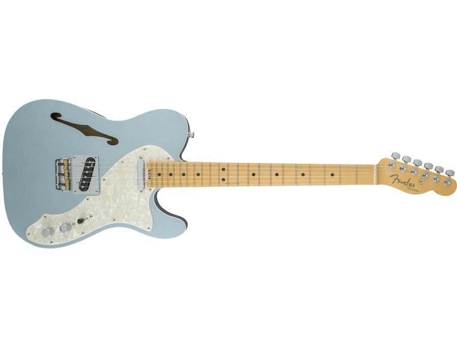 Fender American Elite Tele Thinline Mystic Ice blue