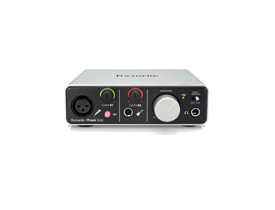 Focusrite iTrack Solo Audio Interface for iPad, Mac & PC