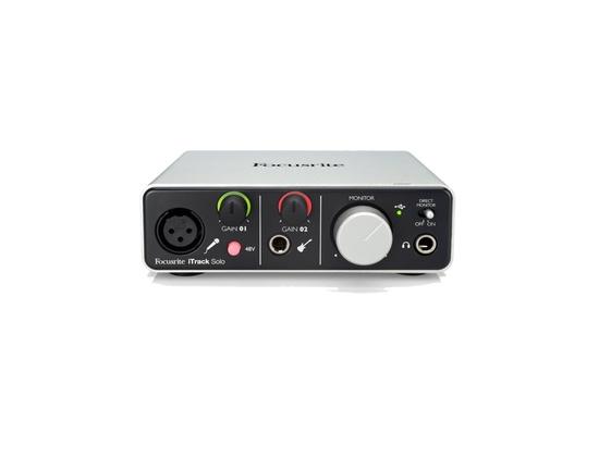 Focusrite iTrack Solo Audio Interface for iPad, Mac & PC