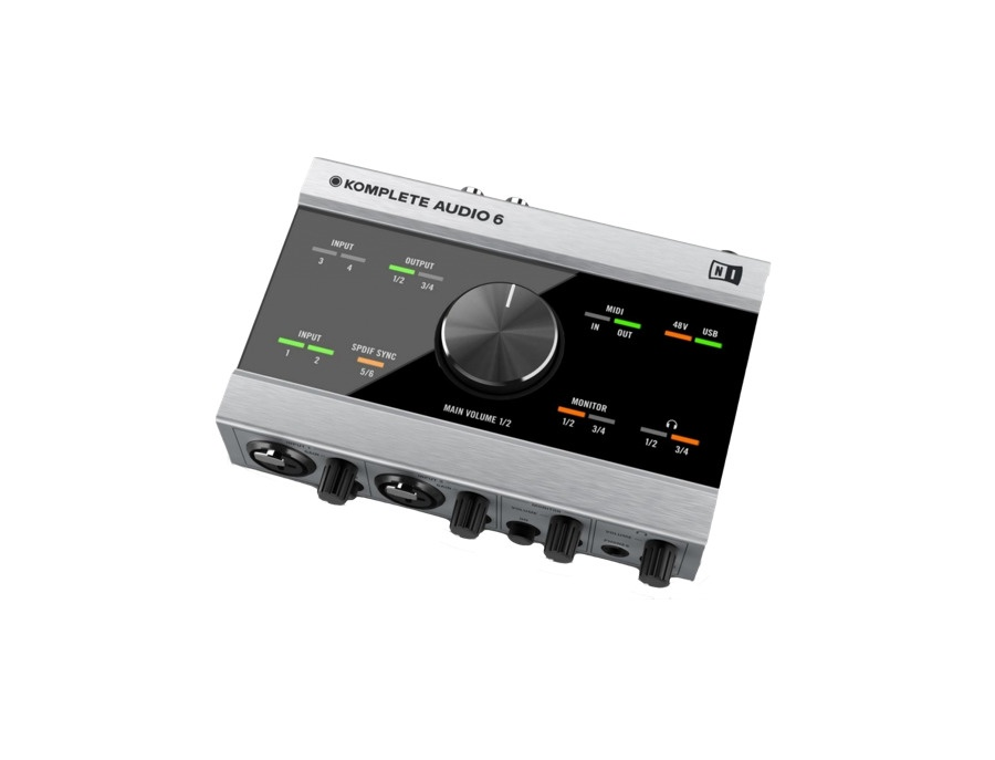 Native instruments komplete audio 6 audio interface xl